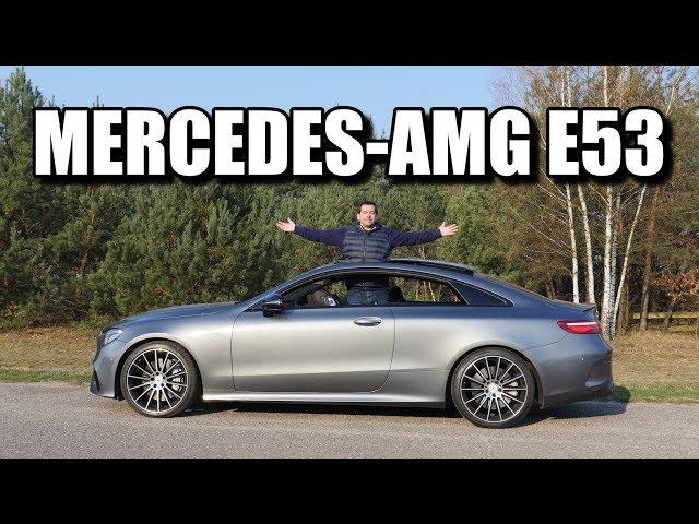 Mercedes-AMG E53 Coupe (PL) - test i jazda próbna