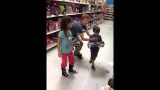 Stealing Kids At Walmart !