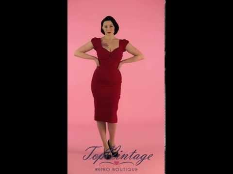 TopVintage - Billion Dollar Dress In Red