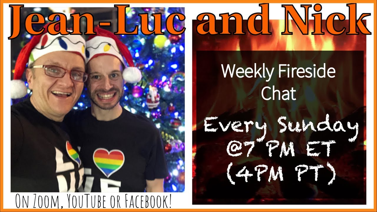WW Gays Fireside Chat LIVE! December 27th 2020