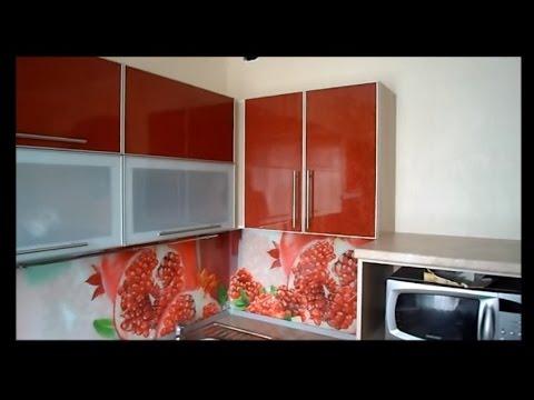 Кухня угловая с пеналом фасады пластик фурнитура Blum и Boyard