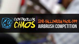 Custom Controllers - 2015 Halloween Airbrush Artist Face-Off - Controller Chaos