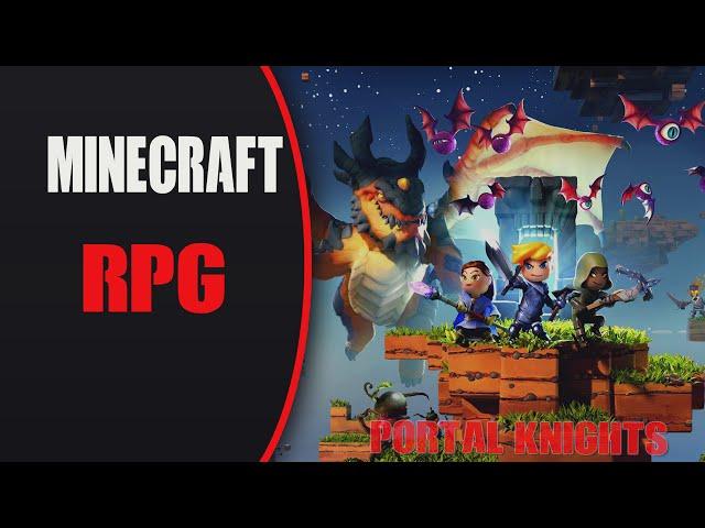 Minecraft RPG ? Portal Knights PT-BR?