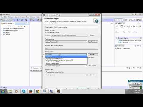 Downlaod and Installation axis2 &Create web...