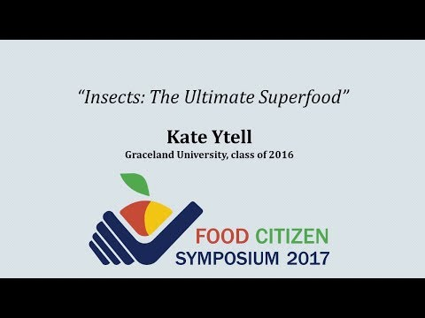 """Insects: The Ultimate Superfood"""