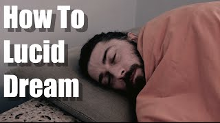 how to lucid dream the easiest best way
