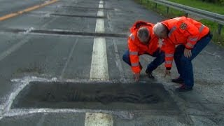 Diagnose Betonkrebs: Autobahnsterben im Osten