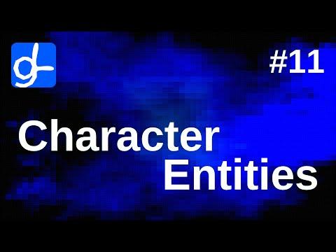 HTML Character Entities • Web Development 11