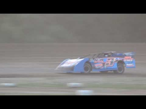 American Ethanol Late Models Heat Race #3 at Mount Pleasant Speedway 08-19-16.