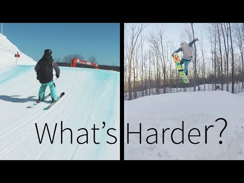 What's Harder: Skiing or Snowboarding?