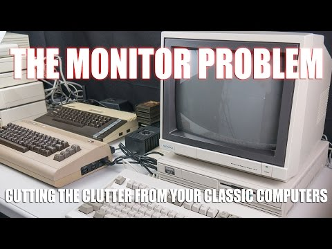 A single monitor for ALL classic computers? - YouTube