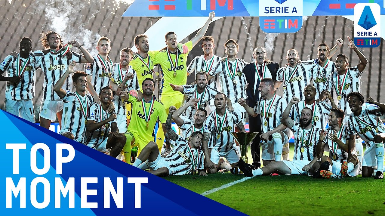 Juventus Lift the Serie A Trophy! | Juventus 1-3 Roma | Top Moment | Serie A TIM
