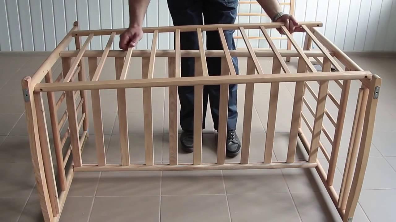 lit b b balancier tiroir cot coulissant roulettes youtube. Black Bedroom Furniture Sets. Home Design Ideas