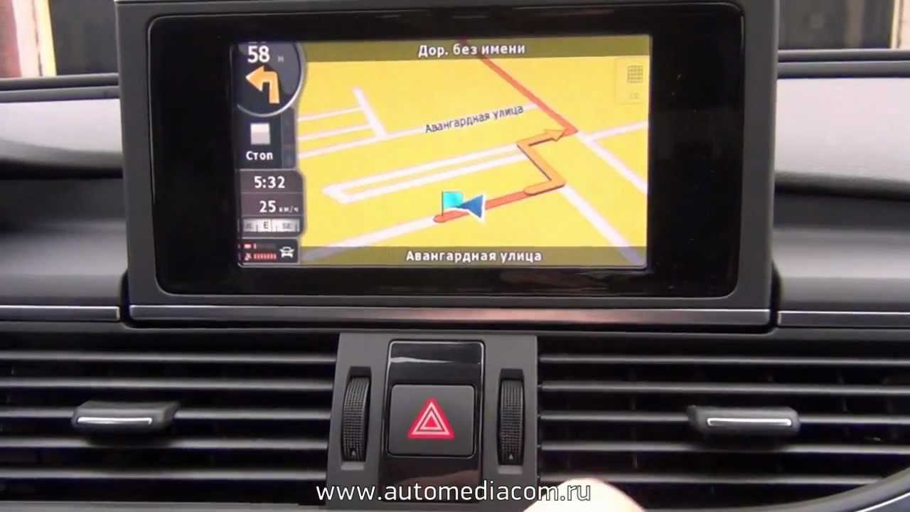 audi a6 mmi 3g basic navi igo touch and dvb youtube. Black Bedroom Furniture Sets. Home Design Ideas