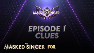Week One Clues | Season 1 Ep. 1 | THE MASKED SINGER