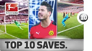 Top 10 Saves - Best Stops from the 2016/17 Season