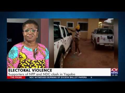 Supporters of NPP and NDC clash in Yagaba – The Probe on JoyNews (30-11-20)
