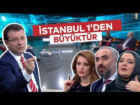 HABERTÜRK'TE GAZETECİLERİN SORULARINI