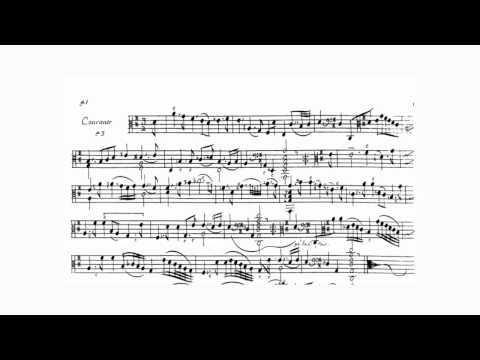 Courante in D from Marin Marais' Troisième Livre