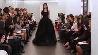 Клекция свадебный платьев Vera Wang осень 2012 Bridal Show