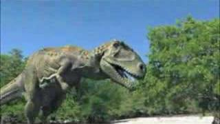 dinosaurs fighting