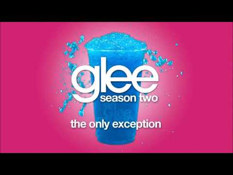 Glee - The Only Exception (Karaoke)