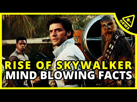 Star Wars: 6 Mind-Blowing The Rise Of Skywalker Facts Revealed (Nerdist News W/ Dan Casey)
