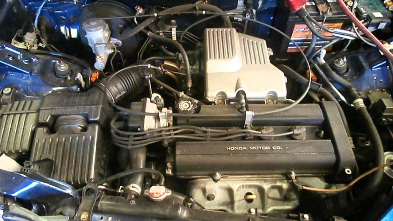 2001 honda crv motor