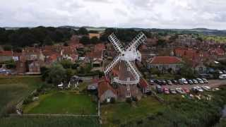 Extroardinary Aerial Footage of Cley Windmill