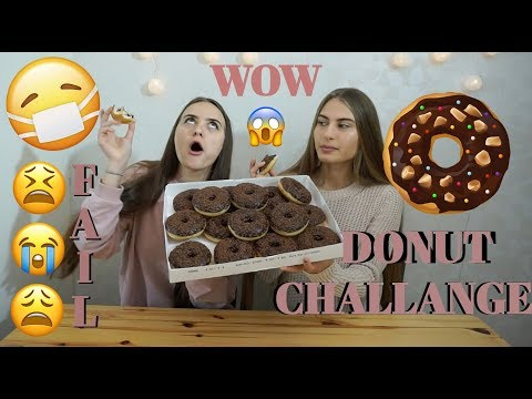 DONUT CHALLANGE!!! FAIL!!!