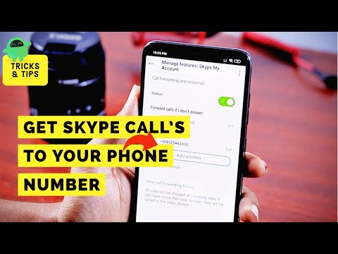 How To Forward Skype Calls To Your Phone Number On Android Or IPhone