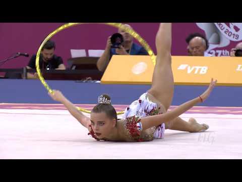 2019 Rhythmic Worlds, Baku (AZE) – Dina AVERINA (RUS), qualifications Hoop