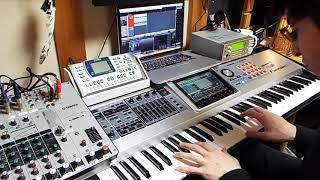 Roland FantomG デモ演奏 プリセット音色 Eden