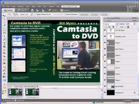 Creating DVD Case Covers With Photoshop Elements