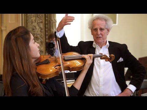 Interpretation Class: Mendelssohn - Violin Concerto Mvts. 1 and 2