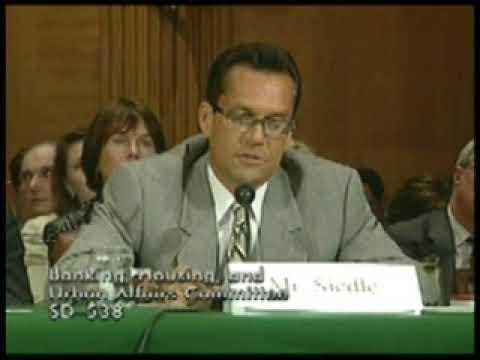 Senate Banking Committee Testimony