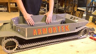 ARMORTEK ELEFANT: 1/6 Scale METAL TANK BUILD -
