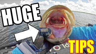 BIZARRE How Bass Eat This Bait ~ DIRTY 30 in the new BOAT