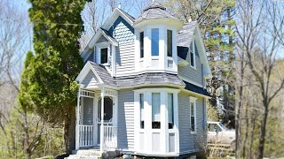 Amazing Adorable Victorian Tiny House On 3 Acres Of Tranquility