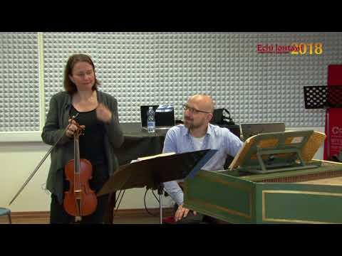 Susanne Scholz e Michael Hell presentano il CD L'immagine di Corelli