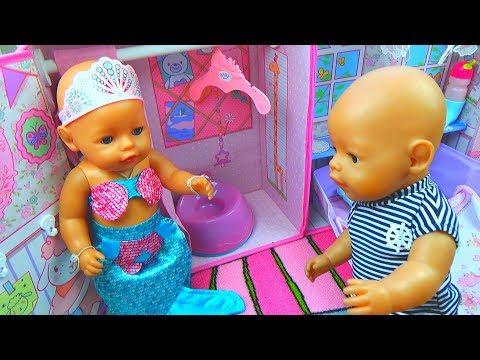 Куклы Беби Бон. Кукла Катя Украла Кукольный Домик Baby Born. Беби бон Макс ищет свой дом