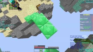 Killing people with No shift One stack! (Hypixel Skywars)