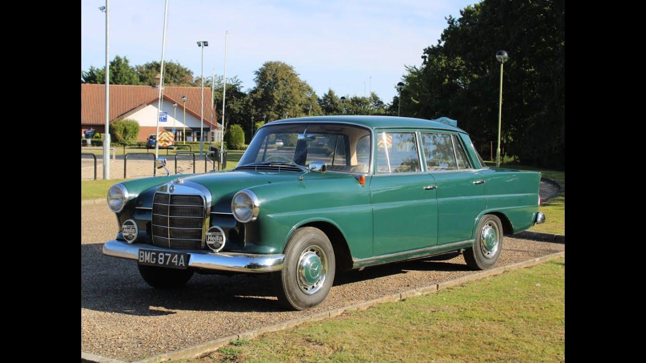 Download 1963 Mercedes Benz W110 190DC Fintail