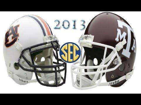 #24 Auburn vs #7 Texas A&M - 2013