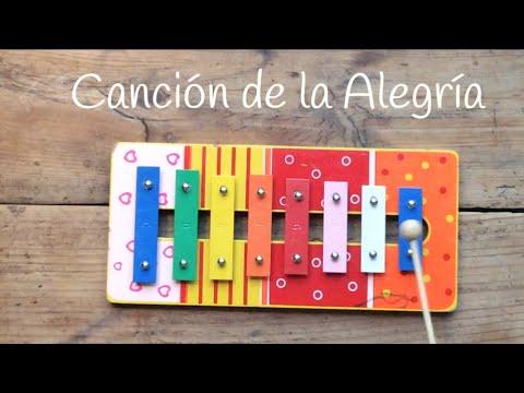 Aprende sencillas canciones con xilófono como el Himno de la Alegría de Beethoven