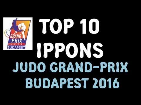 TOP 10 IPPONS JUDO MEN : Grand prix Budapest 2016