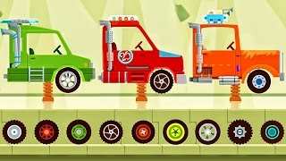 Car Driving Monster Truck Dinosaur Games