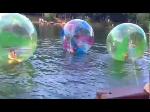 Цветные Водные шары