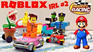 Roblox in Real Life: Mario v. Meep Racing, Roblox Toys, Stop-Motion Animation