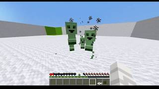 [Minecraft] Baby Creepers